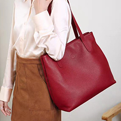 Genuine Leather Shoulder Bag Women Purse LH3072_2 Colors
