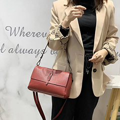 Genuine Leather Crossbody Bag Satchel Purse LH3071_6 Colors
