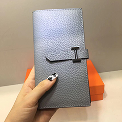 Fashion Long Bidfold Leather Wallet LH3088_9 Colors