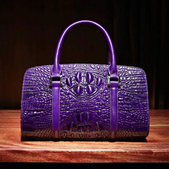 Athletic Crocodile Embossed Real Leather Bag LH2458_5 Colors