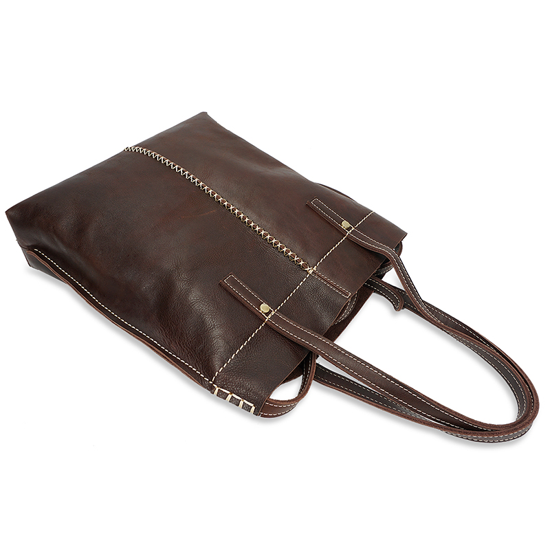 Functional Real Leather Shoulder Bag LH2333_2 Colors