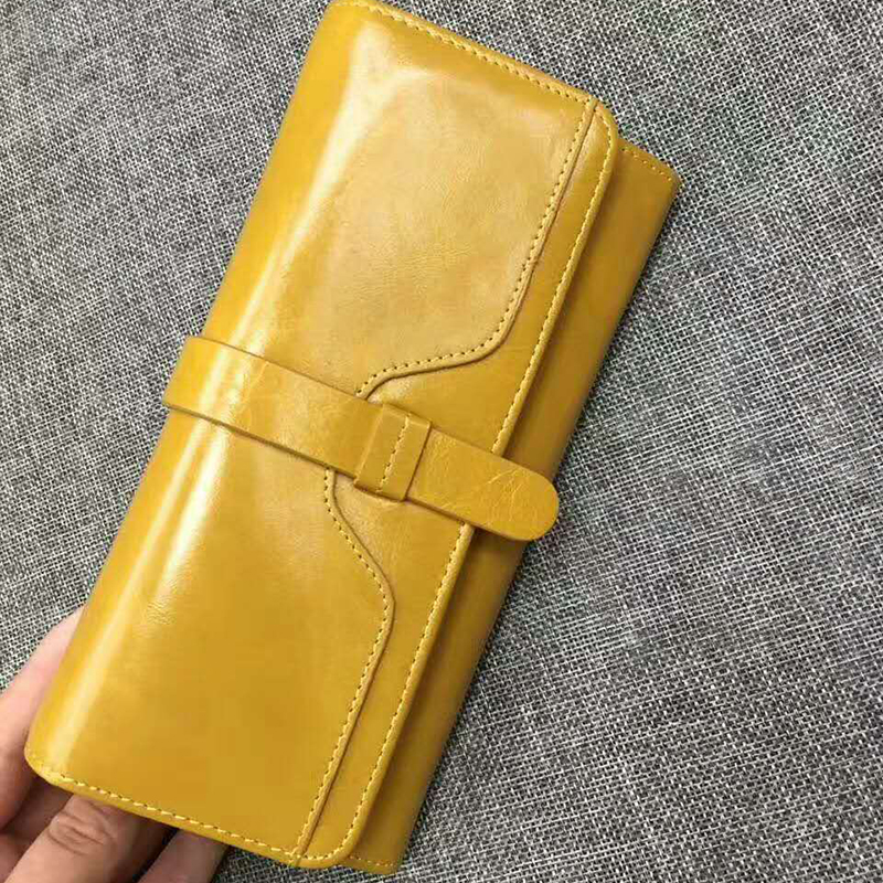 Trifold Distress Leather Wallet LH2344_7 Colors