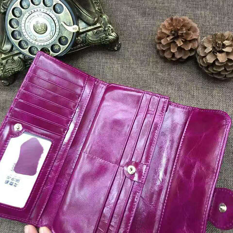 Trifold Distress Leather Wallet LH2343_5 Colors