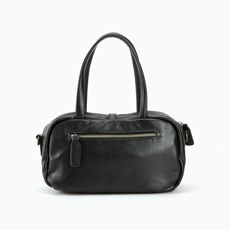Leisure Genuine Leather Shoulder Bag LH2370_3 Colors
