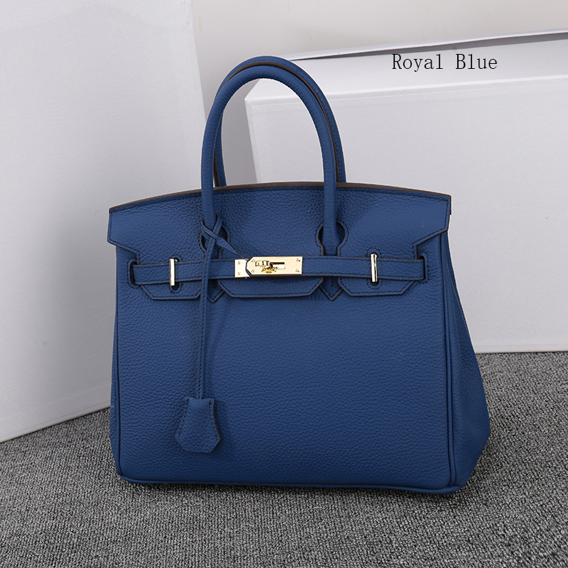 35cm Womens Padlock Top Handle Bag LH1946L_13 Colors