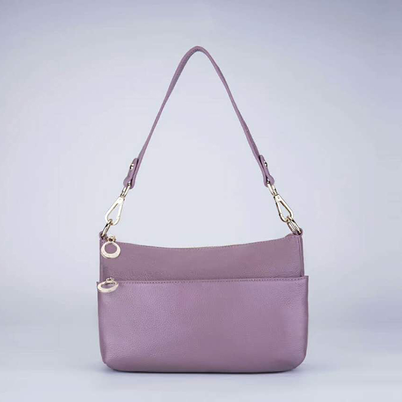 Casual Real Leather Shoulder Bag LH2465_5 Colors