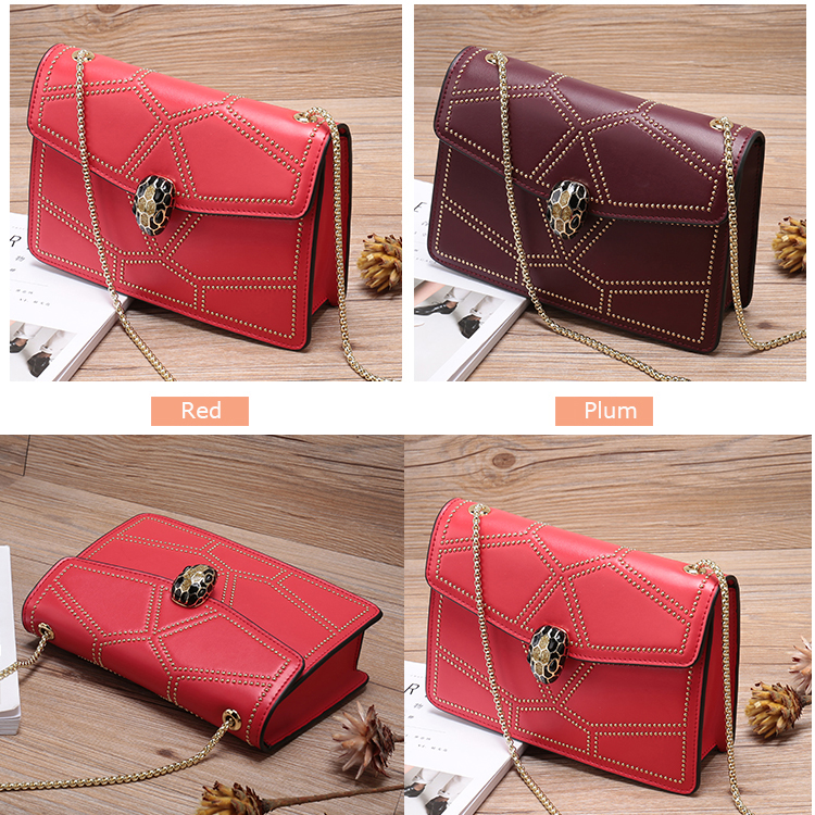 Trendy Ladies Leather Purse Bag LH2571_6 Colors