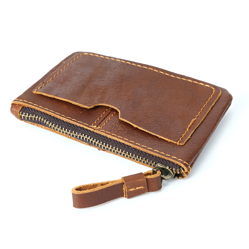Genuine Leather Coin Purse LH2576_4 Colors