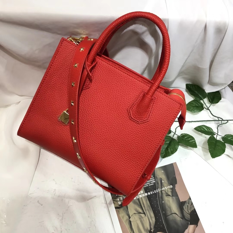 Expanding Leather Tote Bag for Women LH2602_3 Colors