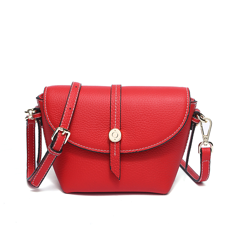 Chic Mini Real Leather Crossbody Bag LH2664_5 Colors