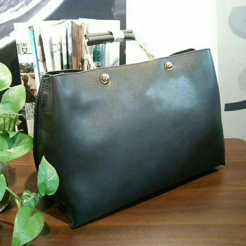 Large Capacity Real Leather Tote Bag LH2676_5 Colors