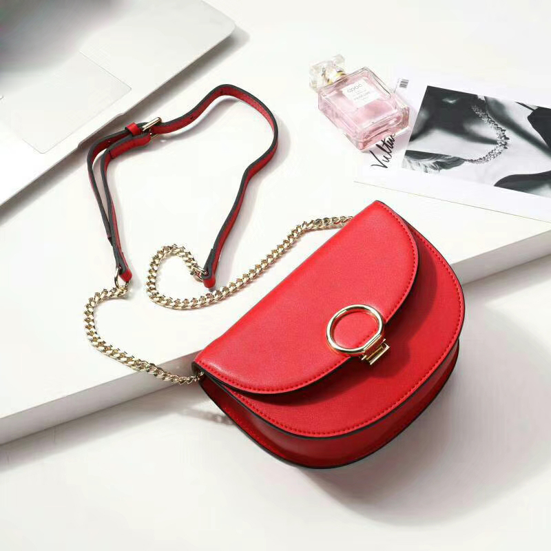 Cute Real Leather Crossbody Satchel Bag LH2677_5 Colors
