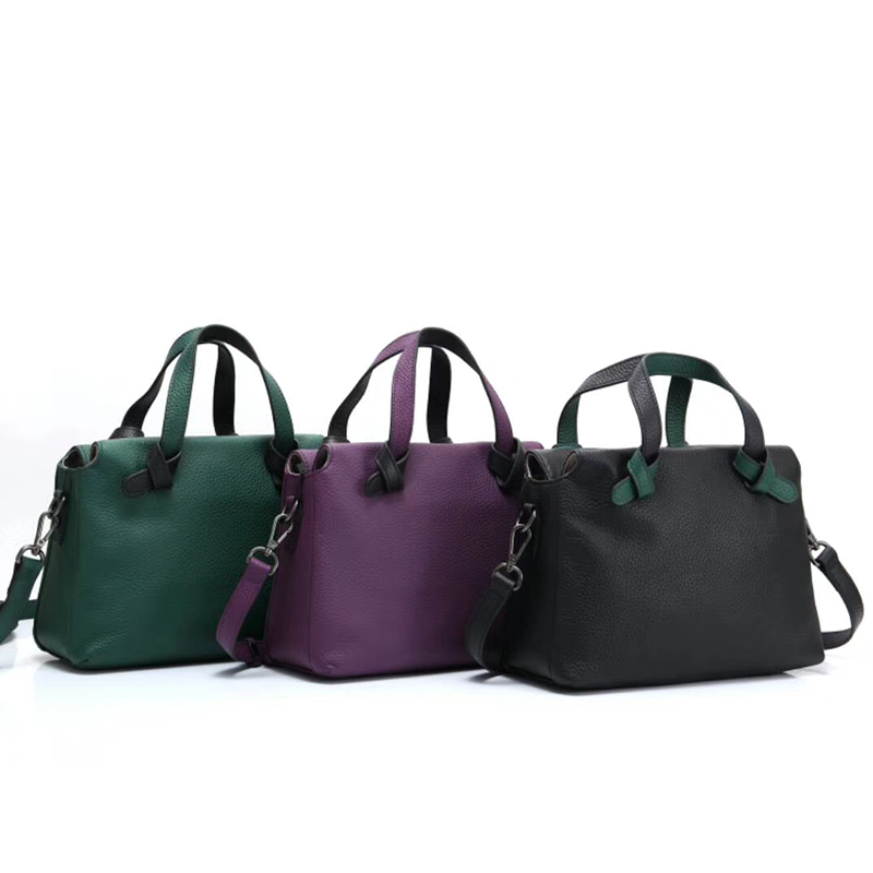 Designer Womens Leather Tote Bag LH2680_3 Colors