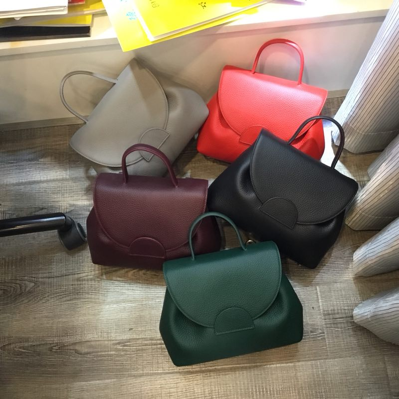 Typical Genuine Leather Satchel Crossbody Bag LH2692_5 Colors