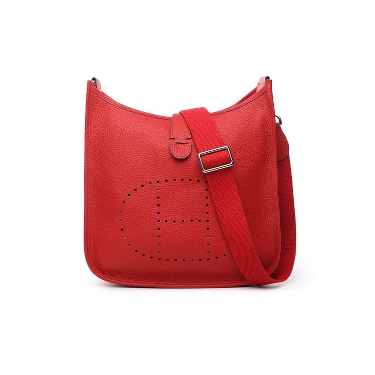 Supple Genuine Leather Crossbody Bag Women Purse LH2743L_8 Colors