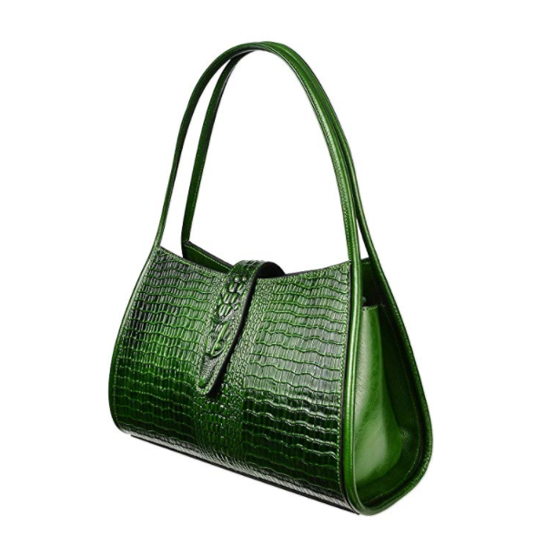 Gorgeous Ladies Crocodile Pattern Leather Hobo Bag LH2679_5 Colors