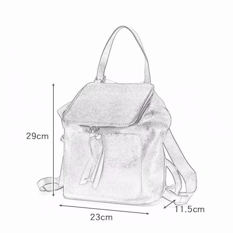 Authentic Designer Handbags Backpack LH2802_3 Colors