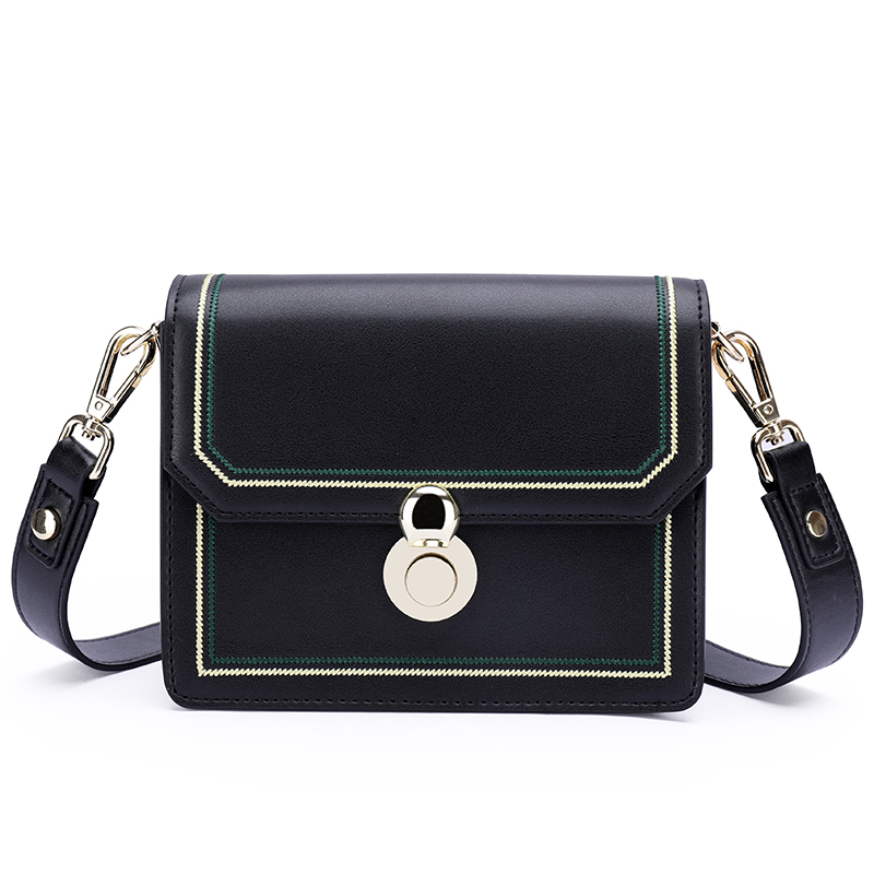 Real Leather Satchel Bag Crossbody Bag LH2829_3 Colors