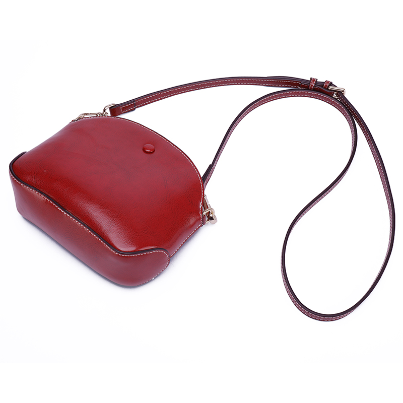 Elegant Real Leather Crossbody Purse Bag LH2852A_3 Colors