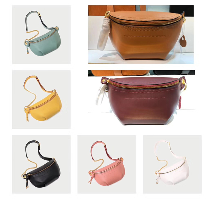 Patent Leather Waist Bag Crossbody Purse LH2933_3 Colors