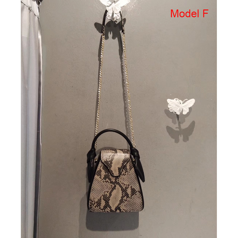 Python Pattern Real Leather Crossbody Bag Satchel Bag LH2970_8 Colors