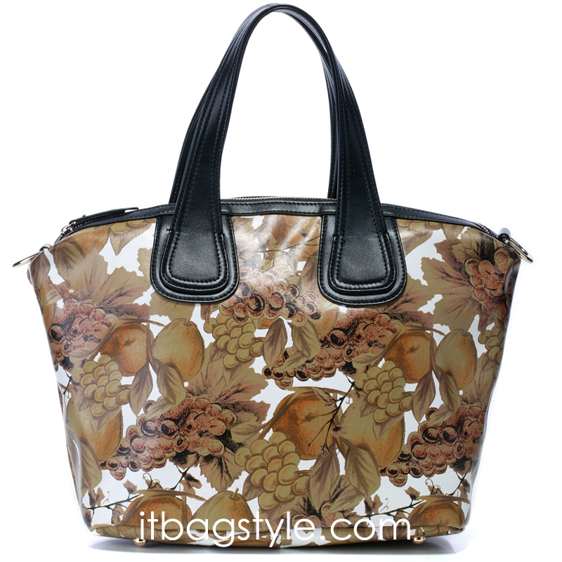 Coleen Brown Fruit Leather Tote LH125