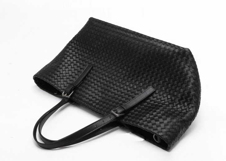 Nelly Black Leather Bag LH854