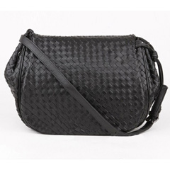 Hanks Black Cross Body Bag LH856