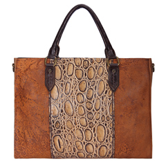 Khaleesi Brown Leather Tote LH1184