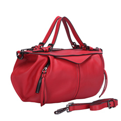 Briar Red Leather Tote LH1190
