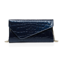 Sarina Navy Blue Leather Purse LH1268