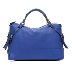 Raya Blue Leather Tote LH1273
