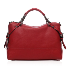 Raya Red Leather Tote LH1273
