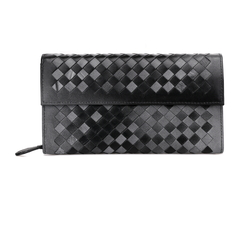Young Black Leather Wallet LH847