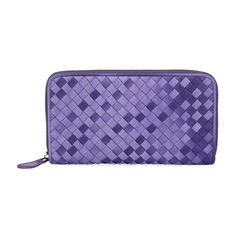 Ray Purple Double Color Wallet LH837