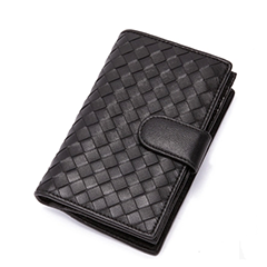 Felix Black Leather Wallets LH976