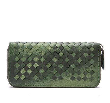 Ray Dark Green Double Color Wallet LH1302
