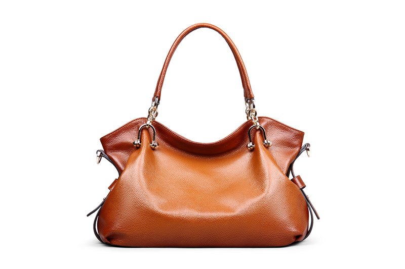Brown Leather Tote Bag LH1434