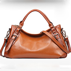 Brown Leather Tote Bag LH1435