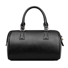 Adeline Black Leather Tote LH501