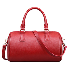 Adeline Red Leather Tote LH501
