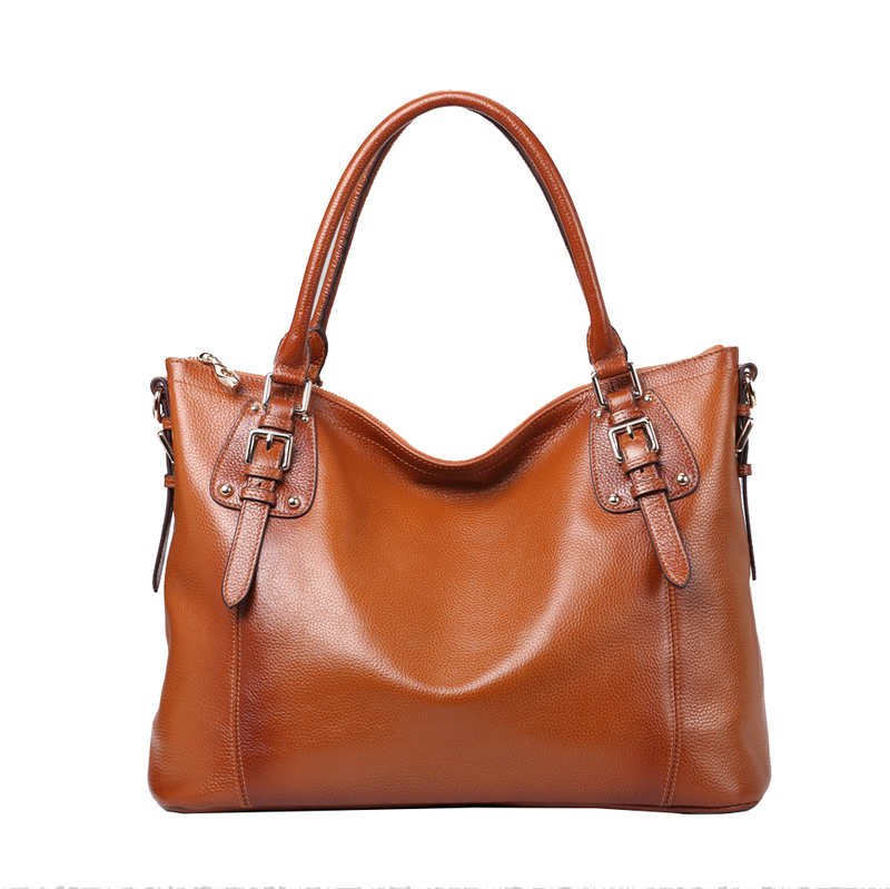 Jones Brown Leather Tote LH9908