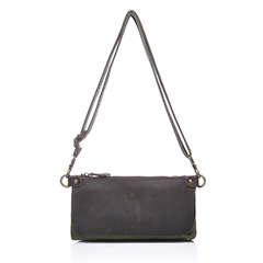 Canvas & Leather Cross Body Bag LH1781_2 Colors