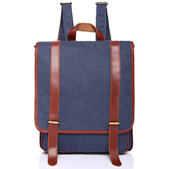 Large Belts Cotton Water Canvas Backpack Purse LH1822