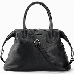 Practical Real Leather Handbag Purse LH1849_2 Colors