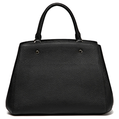 Black Practical Real Leather Bag LH1961
