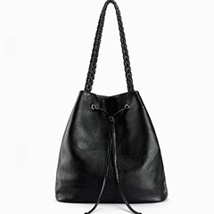 Strings Leather Shoulder Bag LH1991