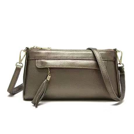 Casual Genuine Leather Purse LH2049_5 Colors