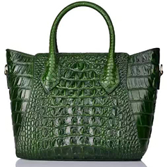 Womens Crocodile Pattern Leather Bag LH2087A_3 Colors