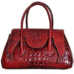 Fashion Crocodile Pattern Leather Bag LH2089_6 Colors